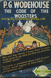 PG Wodehouse The Code of the Woosters