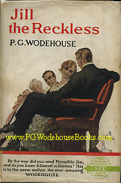 PG Wodehouse Jill the Reckless