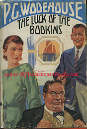 PG Wodehouse The Luck of the Bodkins