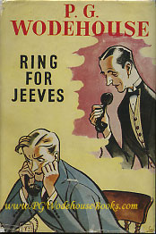 PG Wodehouse Ring for Jeeves