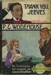 PG Wodehouse Thank You Jeeves