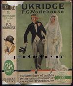PG Wodehouse Ukridge