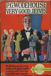 PG Wodehouse Very Good Jeeves
